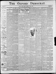 Oxford Democrat : Vol. 67. No.19 - May 08,1900