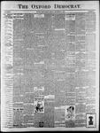 Oxford Democrat : Vol. 67. No.22 - May 29,1900