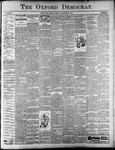 Oxford Democrat : Vol. 67. No.23 - June 05,1900