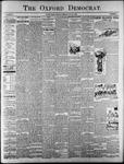 The Oxford Democrat : Vol. 67. No.33 - August 14,1900