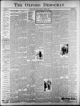 Oxford Democrat : Vol. 67. No.34 - August 21,1900