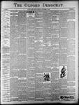 Oxford Democrat : Vol. 67. No.47 - November 20,1900