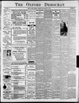 The Oxford Democrat : Vol. 68. No.4 - January 22,1901