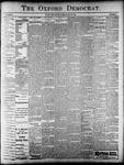 Oxford Democrat : Vol. 68. No.12- March 19,1901