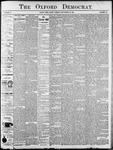 Oxford Democrat : Vol. 68. No.31 July 21,1901