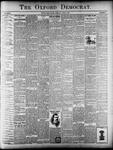 The Oxford Democrat : Vol. 68. No.33 - August 06,1901