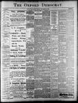 Oxford Democrat : Vol. 68. No.34 August 13,1901