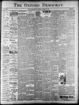 The Oxford Democrat : Vol. 68. No.38 - September 10,1901