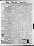 The Oxford Democrat : Vol. 68. No.43 - October 15,1901
