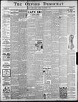 Oxford Democrat : Vol. 68. No.46 November 05,1901