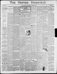 Oxford Democrat : Vol. 69. No.11 - March 18,1902