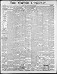 Oxford Democrat : Vol. 69. No.28 - July 15,1902