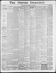 Oxford Democrat : Vol. 69. No.31 - August 05,1902