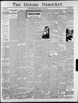 Oxford Democrat : Vol. 70. No.29 - July 21, 1903