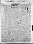 The Oxford Democrat : Vol. 70. No.31 - August 04, 1903
