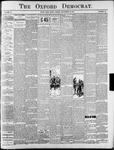 The Oxford Democrat : Vol. 70. No.38 - September 22, 1903