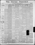 Oxford Democrat : Vol. 70. No.44 - November 03, 1903