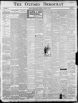 Oxford Democrat : Vol. 71. No.1 - January 05, 1904