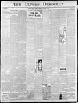 Oxford Democrat : Vol. 71. No.11- - March 15, 1904