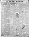 Oxford Democrat : Vol. 71. No.27 - July 05, 1904