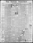 The Oxford Democrat : Vol. 72. No.12 - March 21, 1905