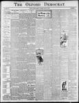 Oxford Democrat : Vol. 72. No.21 - May 23, 1905