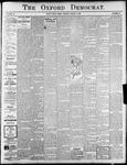 The Oxford Democrat : Vol. 72. No.32 - August 08, 1905