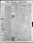 Oxford Democrat : Vol. 73. No.47 - November 20,1906