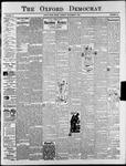 Oxford Democrat : Vol. 73. No.49 - December 04,1906