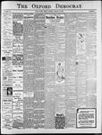 The Oxford Democrat : Vol. 74. No.3 - January 15,1907