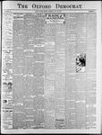 Oxford Democrat : Vol. 74. No.31 - July 30,1907