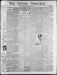 Oxford Democrat : Vol. 74. No.32 - August 06,1907