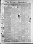The Oxford Democrat : Vol. 74. No.33 - August 13,1907