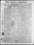 Oxford Democrat : Vol. 74. No.38 - September 17,1907