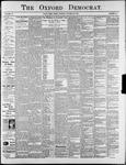 The Oxford Democrat : Vol. 74. No.43 - October 22,1907
