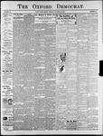 Oxford Democrat : Vol. 74. No.44 - October 29,1907