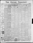 Oxford Democrat : Vol. 74. No.47 - November 19,1907
