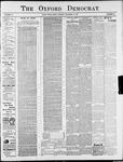 Oxford Democrat : Vol. 74. No.50 - December 10,1907