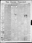 Oxford Democrat : Vol. 75. No. 3 - January 21,1908