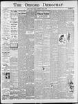 Oxford Democrat : Vol. 75. No. 22 - June 02,1908