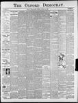 The Oxford Democrat : Vol. 75. No. 34 - August 25,1908