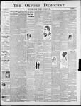 Oxford Democrat : Vol. 75. No. 41 - October 13,1908