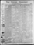 Oxford Democrat: Vol. 76, No. 13 - March 30,1909
