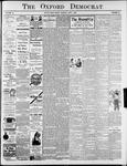 Oxford Democrat: Vol. 76, No. 22 - June 01,1909