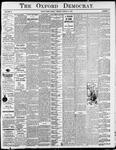 Oxford Democrat - Vol. 81, No.10-- March 10,1914