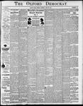 Oxford Democrat - Vol. 81, No.25 - June 23,1914