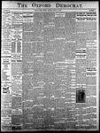 Oxford Democrat - Vol. 83, No.16 - April 18,1916