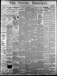 Oxford Democrat - Vol. 83, No.18 - May 02,1916
