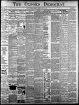 Oxford Democrat - Vol. 83, No.19 - May 09,1916