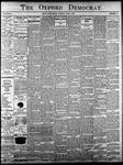 Oxford Democrat - Vol. 83, No.23 - June 06,1916